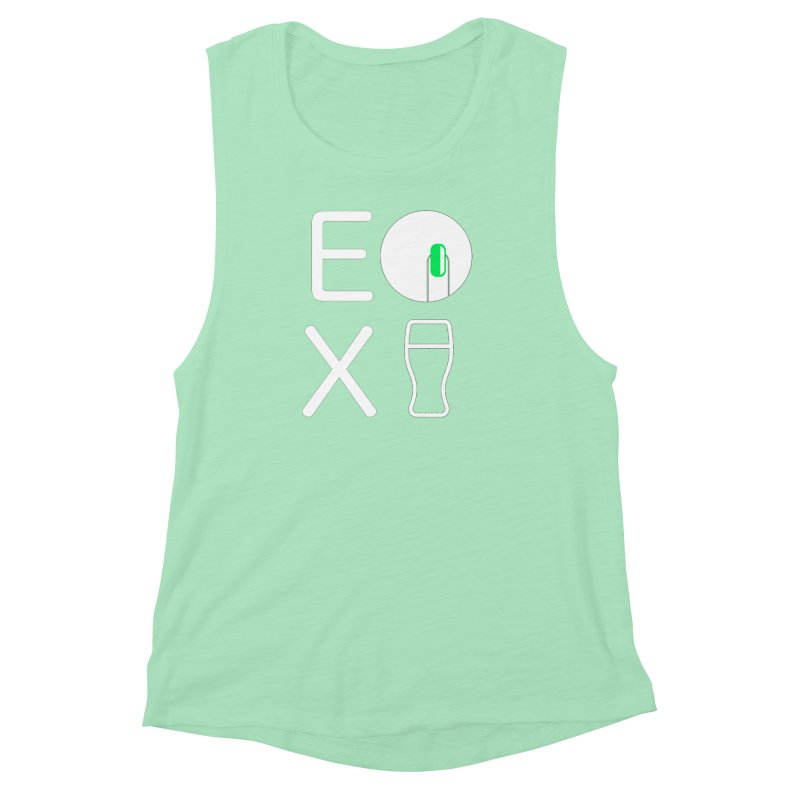 EX YOGINI Women's Muscle Tank by Piccolo Cafe