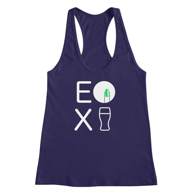 EX YOGINI Women's Racerback Tank by Piccolo Cafe