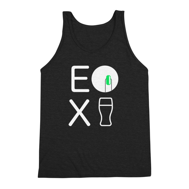 EX YOGINI Men's Triblend Tank by Piccolo Cafe