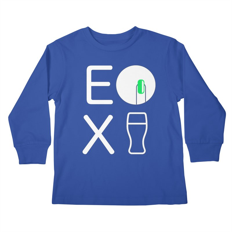 EX YOGINI Kids Longsleeve T-Shirt by Piccolo Cafe