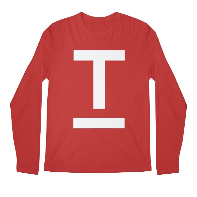 TM FACE Men's Regular Longsleeve T-Shirt by Piccolo Cafe