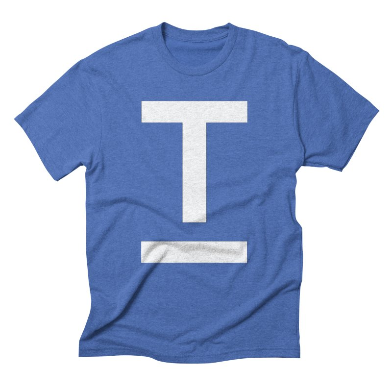 TM FACE Men's Triblend T-Shirt by Piccolo Cafe