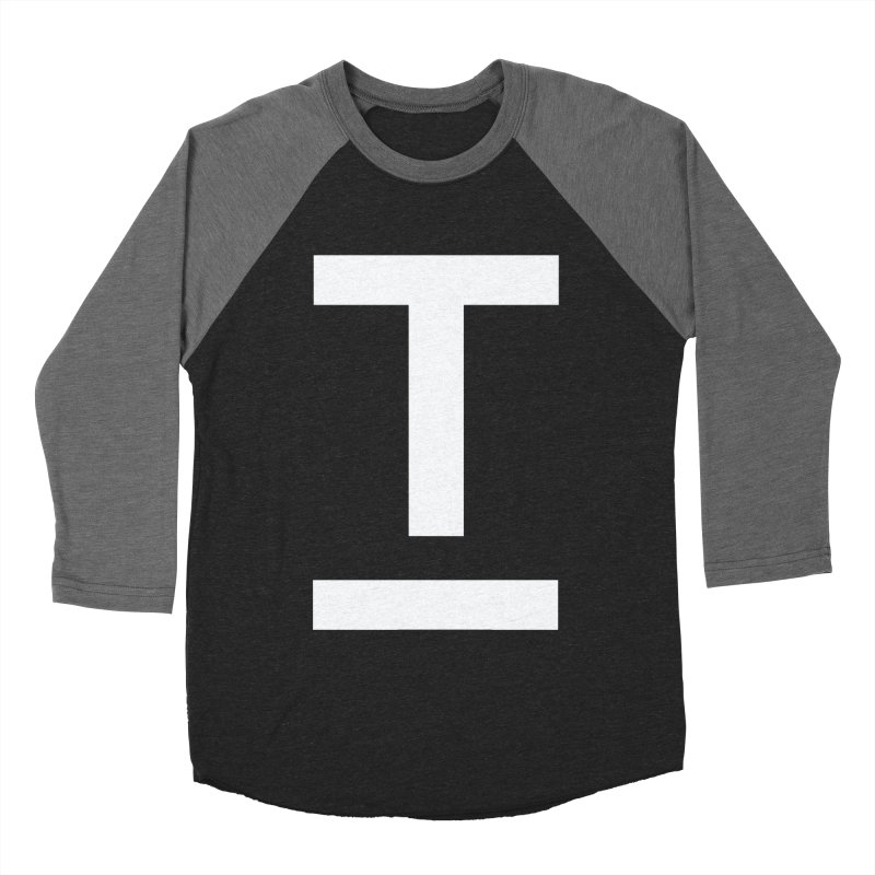 TM FACE Women's Baseball Triblend Longsleeve T-Shirt by Piccolo Cafe