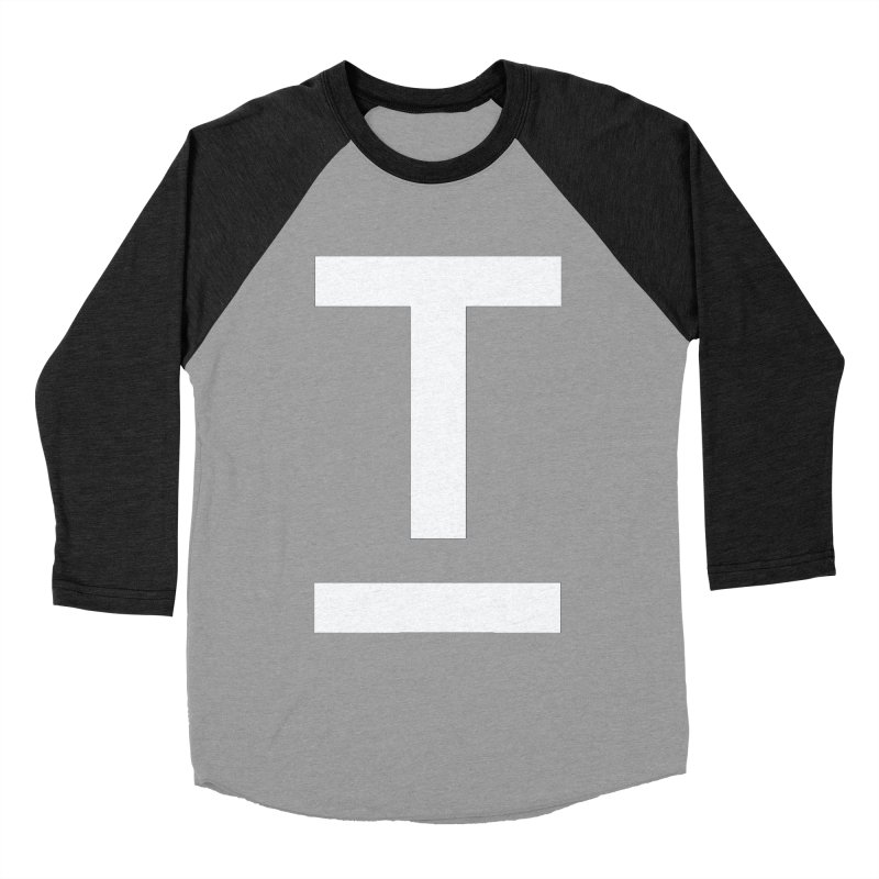 TM FACE Men's Baseball Triblend Longsleeve T-Shirt by Piccolo Cafe