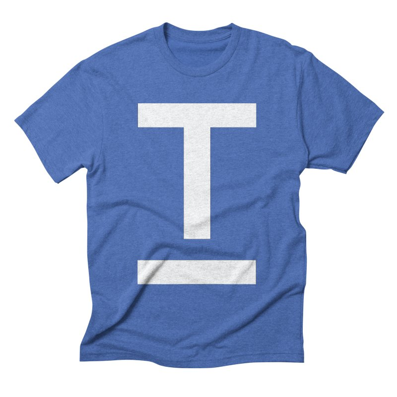 TM FACE Men's Triblend T-shirt by Piccolo Cafe