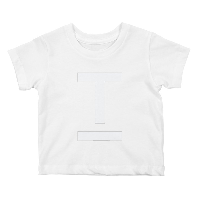 TM FACE Kids Baby T-Shirt by Piccolo Cafe