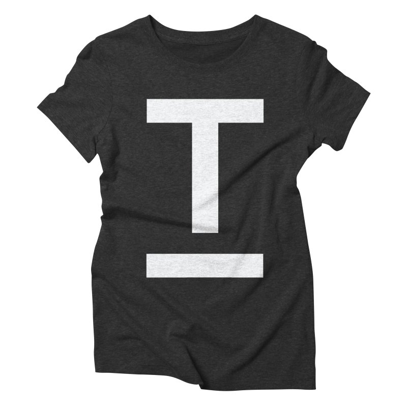 TM FACE Women's Triblend T-Shirt by Piccolo Cafe