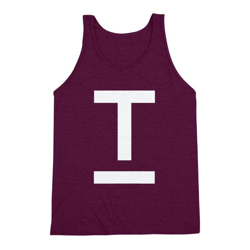 TM FACE Men's Triblend Tank by Piccolo Cafe