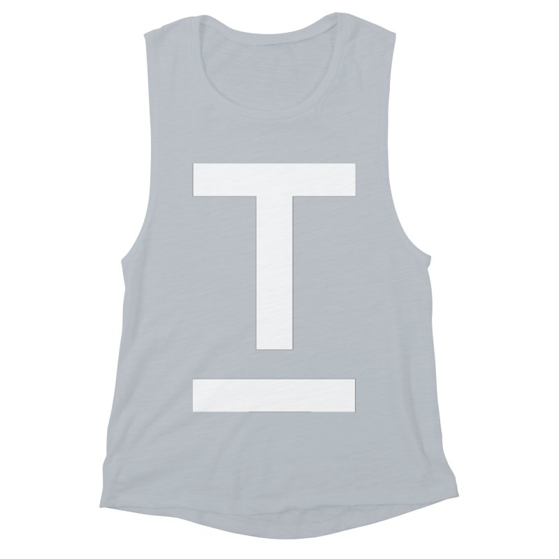 TM FACE Women's Muscle Tank by Piccolo Cafe