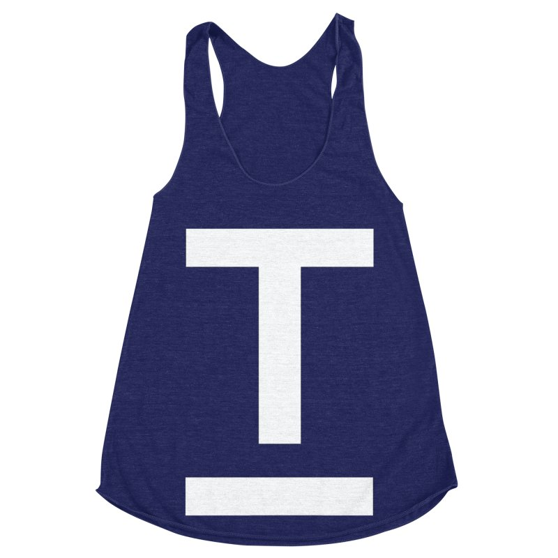 TM FACE Women's Racerback Triblend Tank by Piccolo Cafe