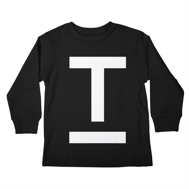TM FACE Kids Longsleeve T-Shirt by Piccolo Cafe