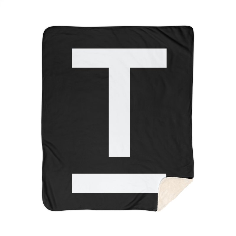 TM FACE Home Sherpa Blanket Blanket by Piccolo Cafe