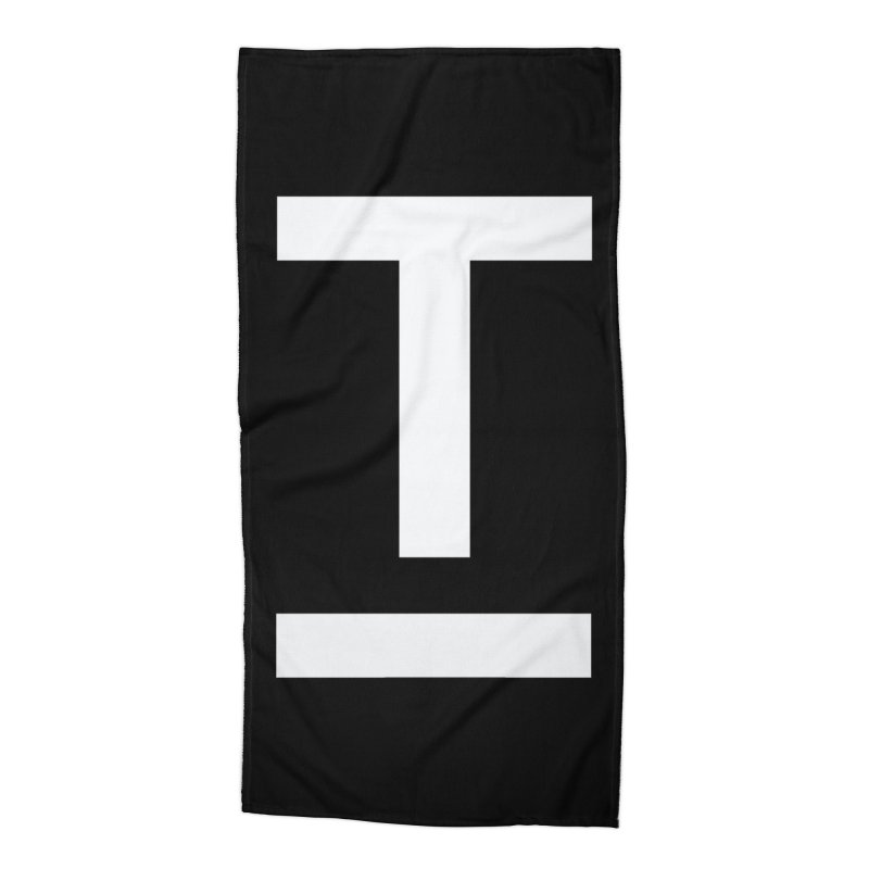 TM FACE Accessories Beach Towel by Piccolo Cafe