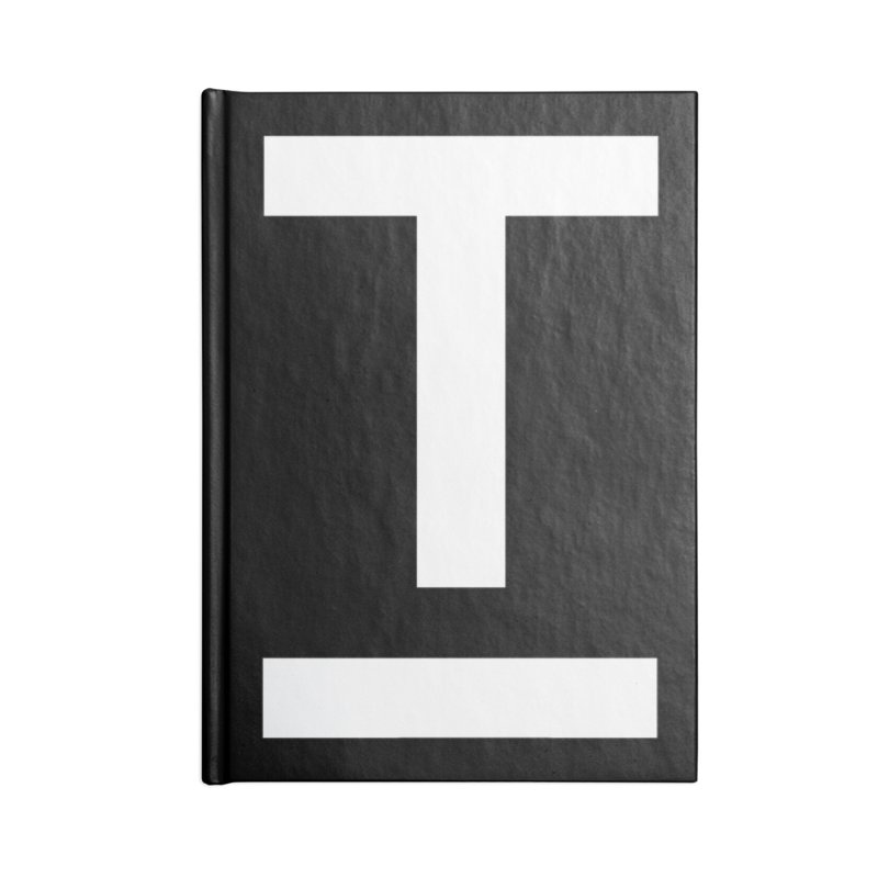 TM FACE Accessories Blank Journal Notebook by Piccolo Cafe