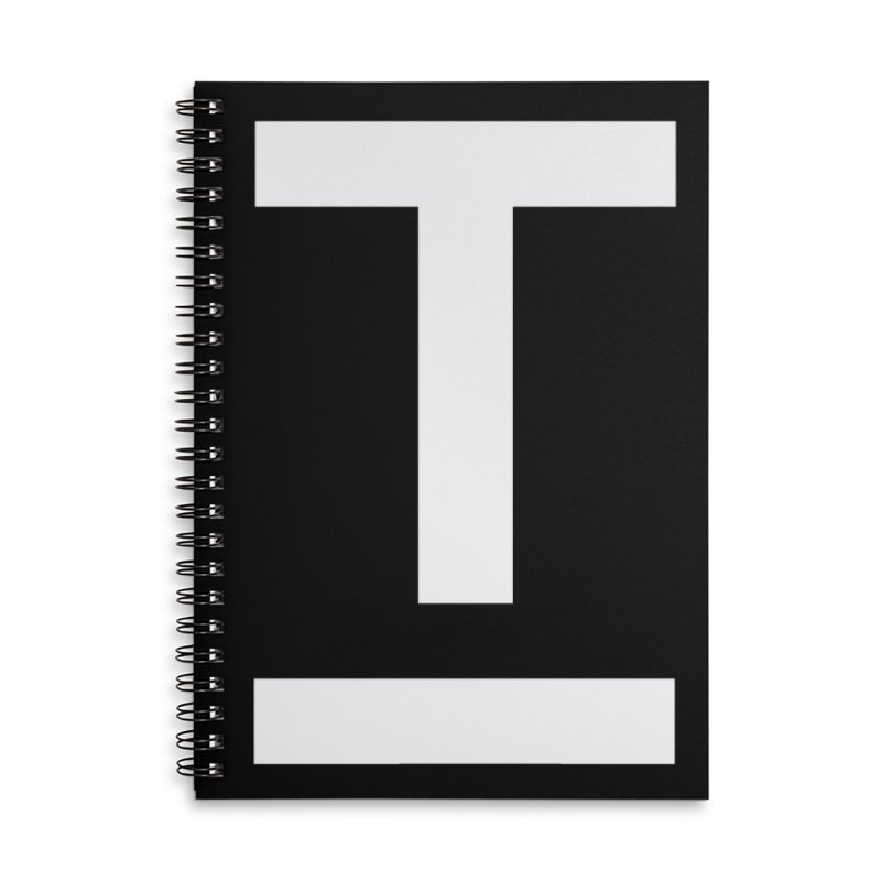 TM FACE Accessories Lined Spiral Notebook by Piccolo Cafe