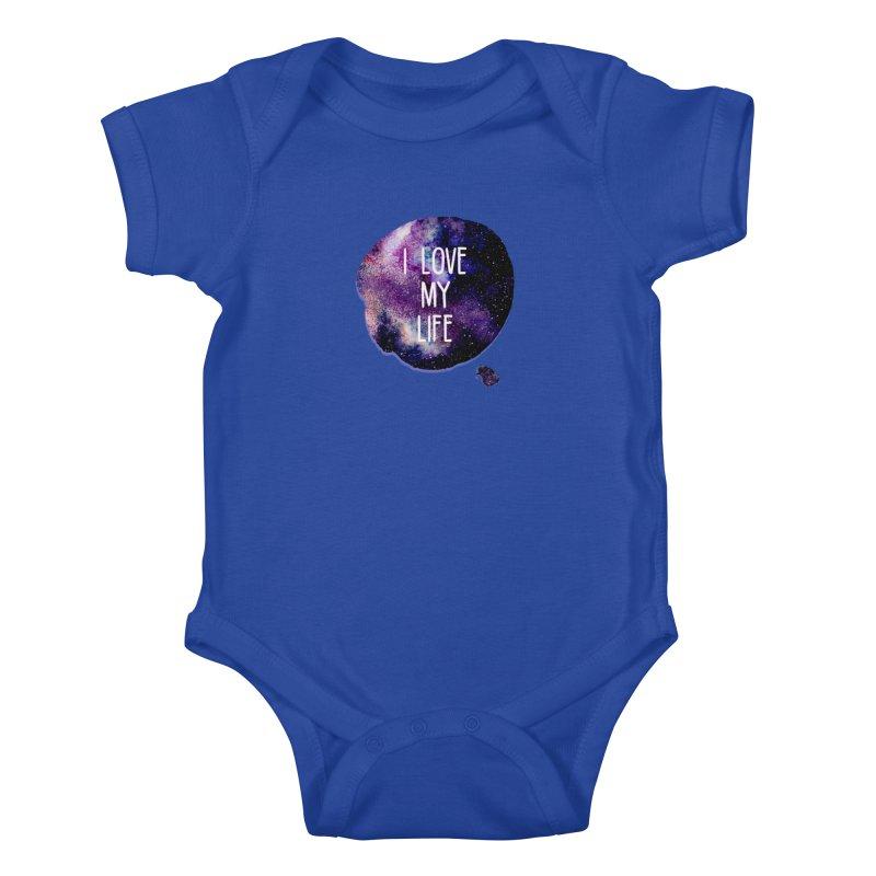I LOVE MY LIFE Kids Baby Bodysuit by pick&roll