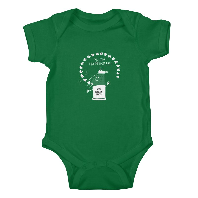 POPCORN VIBES Kids Baby Bodysuit by pick&roll