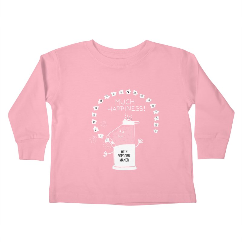 POPCORN VIBES Kids Toddler Longsleeve T-Shirt by pick&roll
