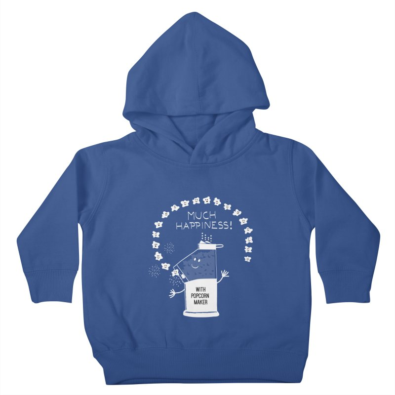 POPCORN VIBES Kids Toddler Pullover Hoody by pick&roll