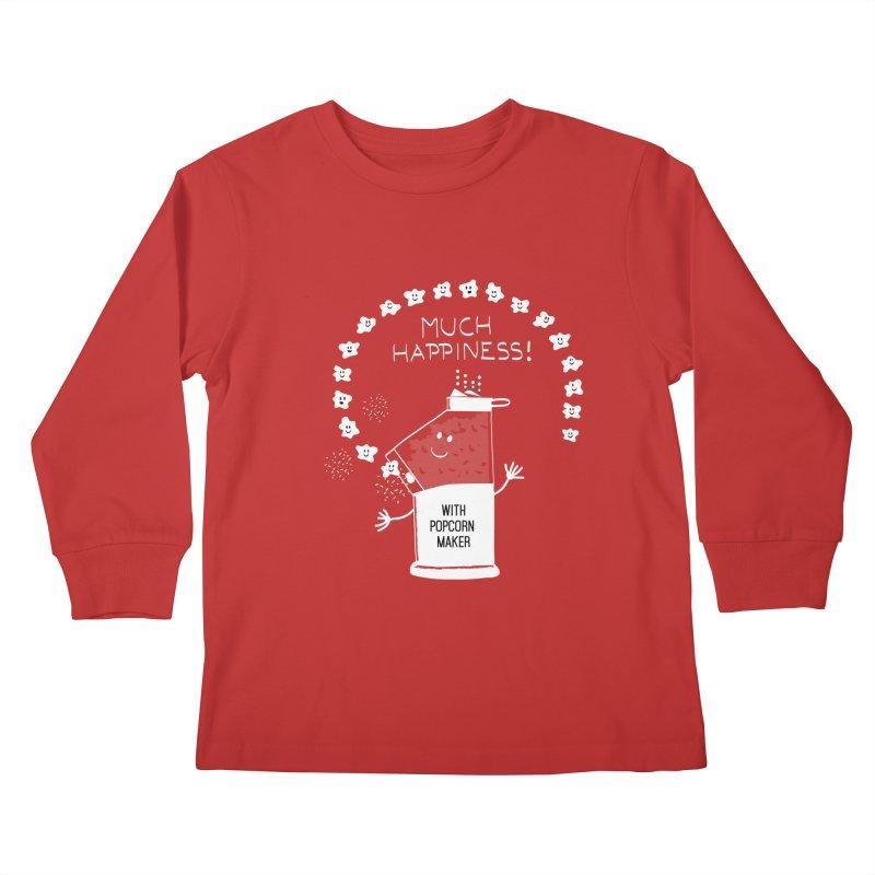 POPCORN VIBES Kids Longsleeve T-Shirt by pick&roll