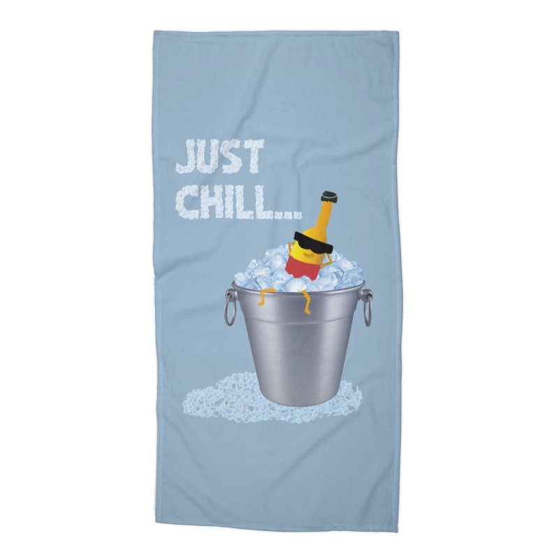 JUST CHILL Accessories Beach Towel by pick&roll