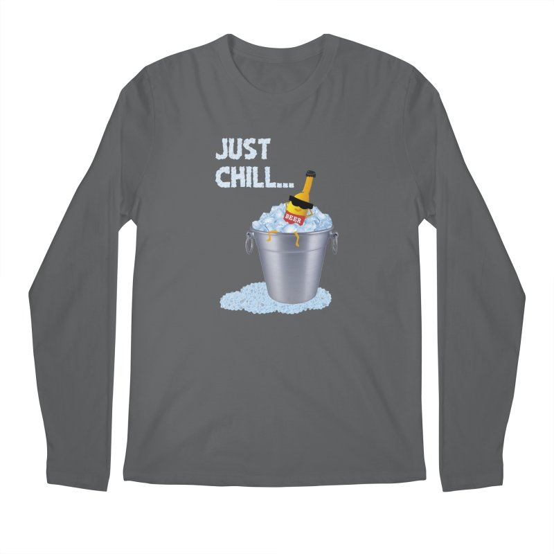 JUST CHILL Men's Longsleeve T-Shirt by pick&roll