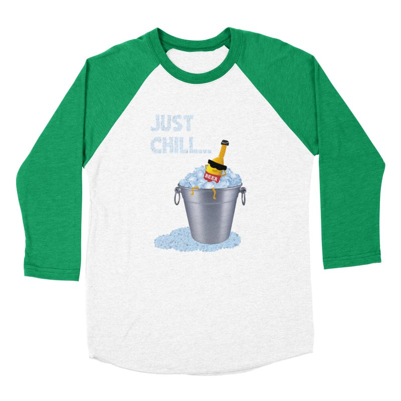 JUST CHILL Women's Baseball Triblend T-Shirt by pick&roll