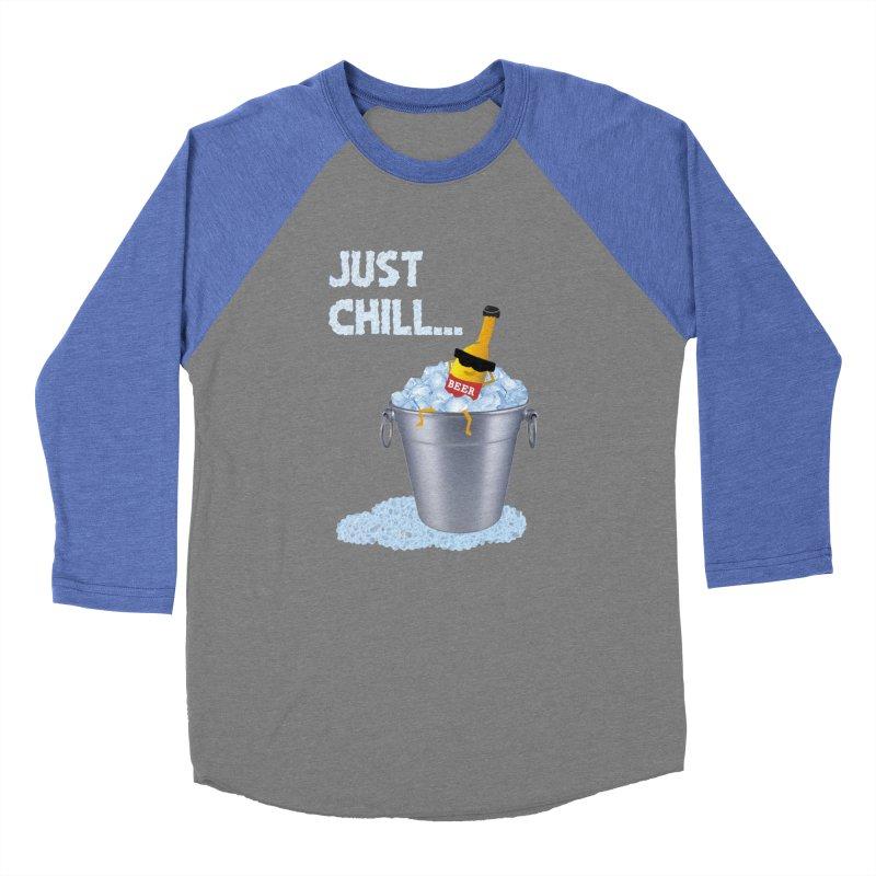 JUST CHILL Women's Baseball Triblend T-Shirt by pick&roll