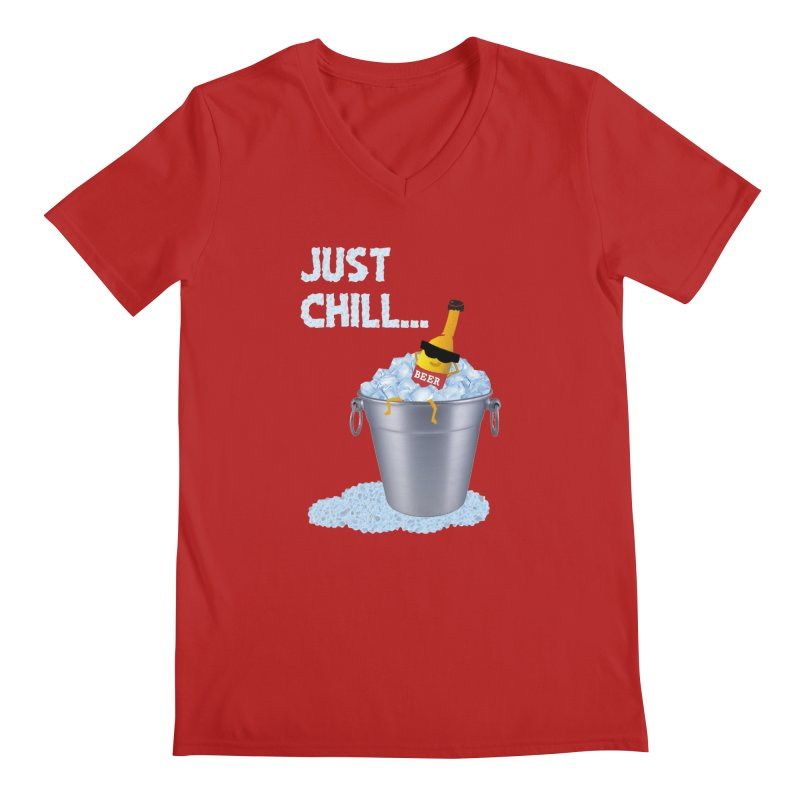 JUST CHILL Men's V-Neck by pick&roll