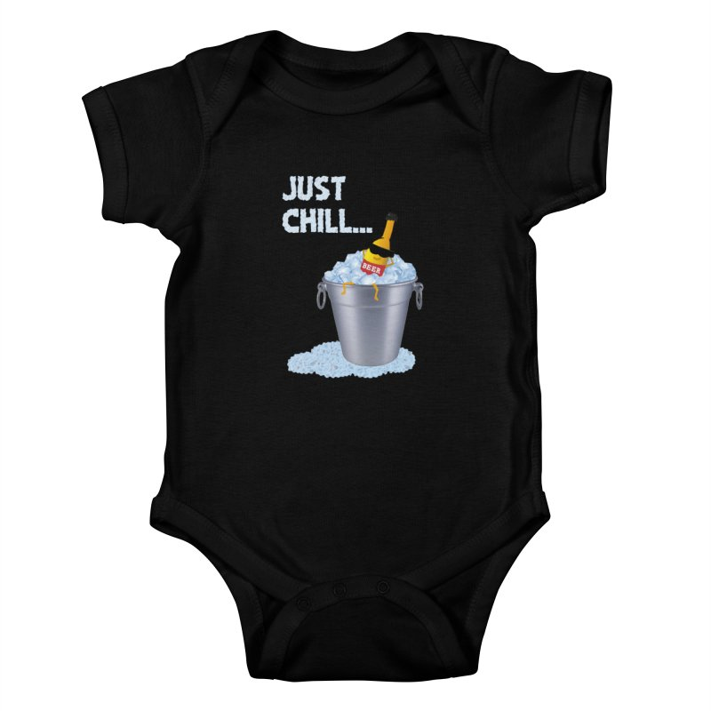 JUST CHILL Kids Baby Bodysuit by pick&roll