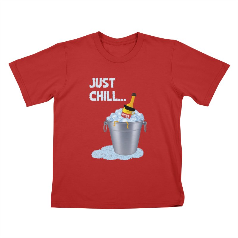 JUST CHILL Kids T-shirt by pick&roll