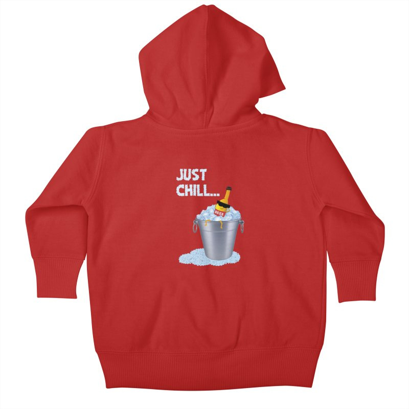 JUST CHILL Kids Baby Zip-Up Hoody by pick&roll