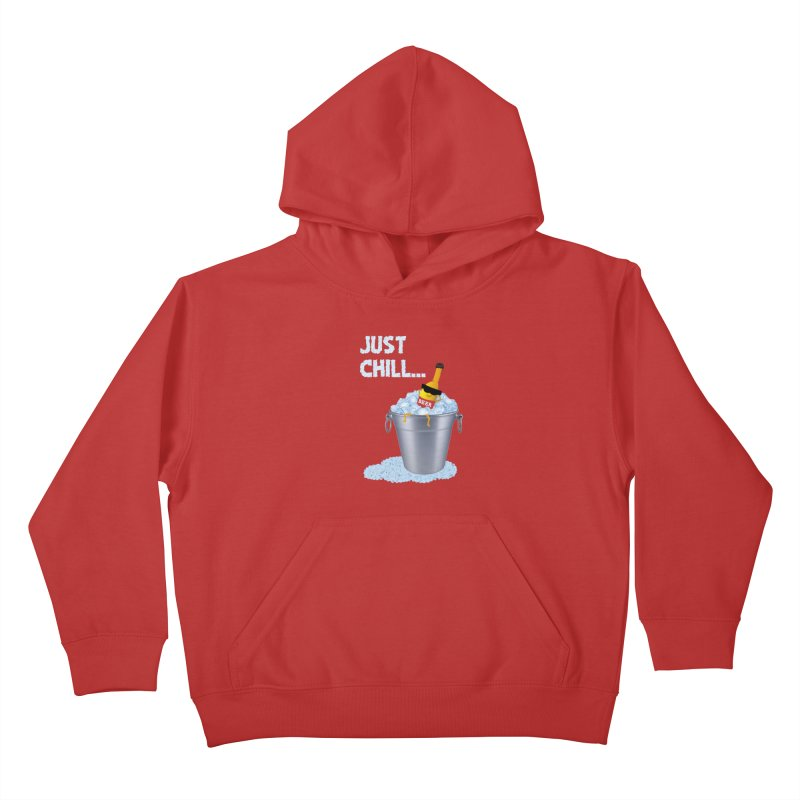 JUST CHILL Kids Pullover Hoody by pick&roll