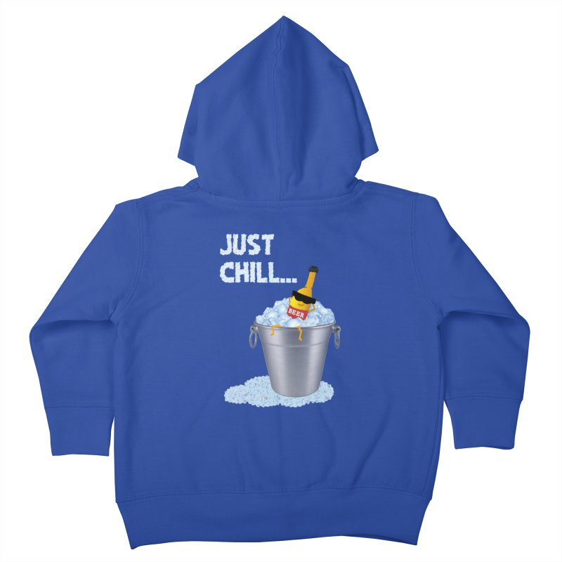 JUST CHILL Kids Toddler Zip-Up Hoody by pick&roll