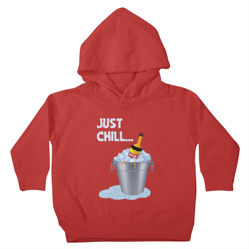 JUST CHILL Kids Toddler Pullover Hoody by pick&roll