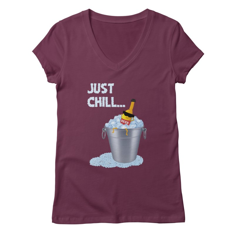 JUST CHILL Women's V-Neck by pick&roll