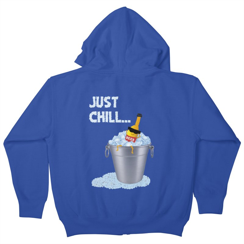 JUST CHILL Kids Zip-Up Hoody by pick&roll