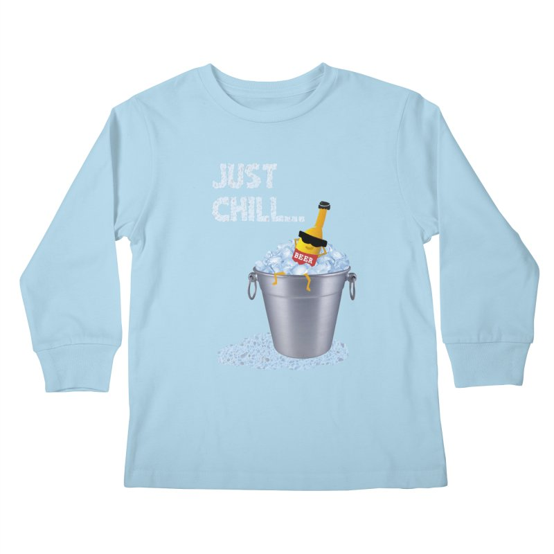 JUST CHILL Kids Longsleeve T-Shirt by pick&roll