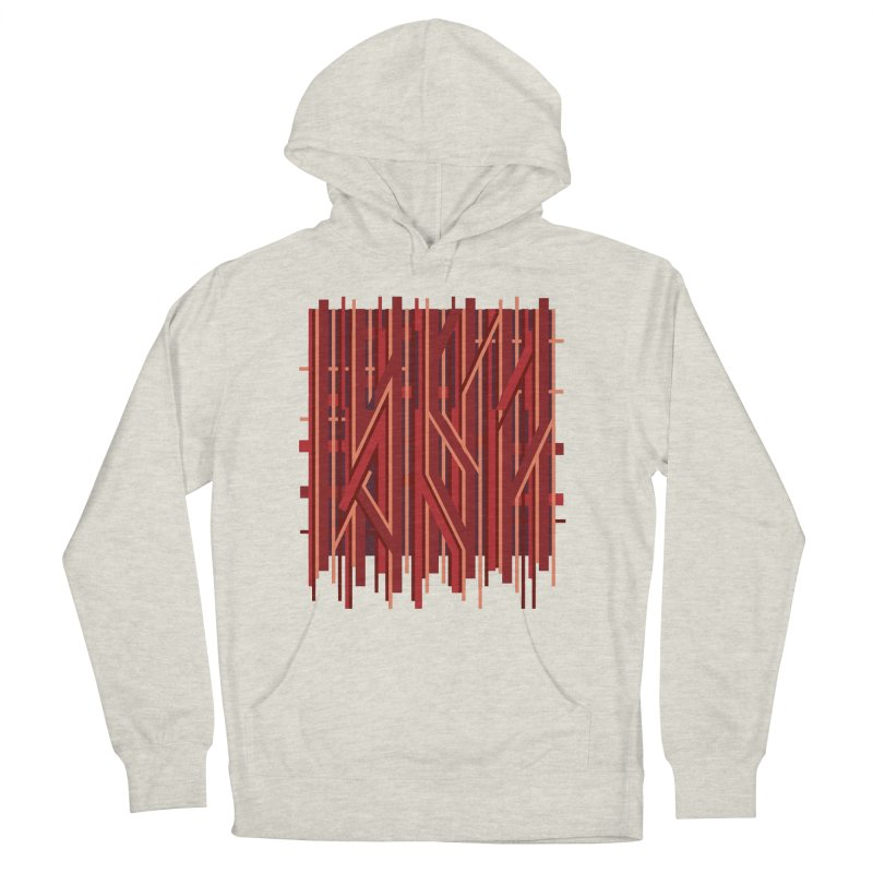 RED LINES Men's Pullover Hoody by pick&roll