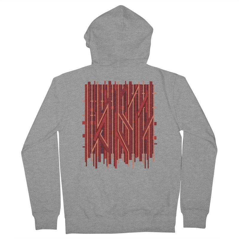 RED LINES Men's Zip-Up Hoody by pick&roll