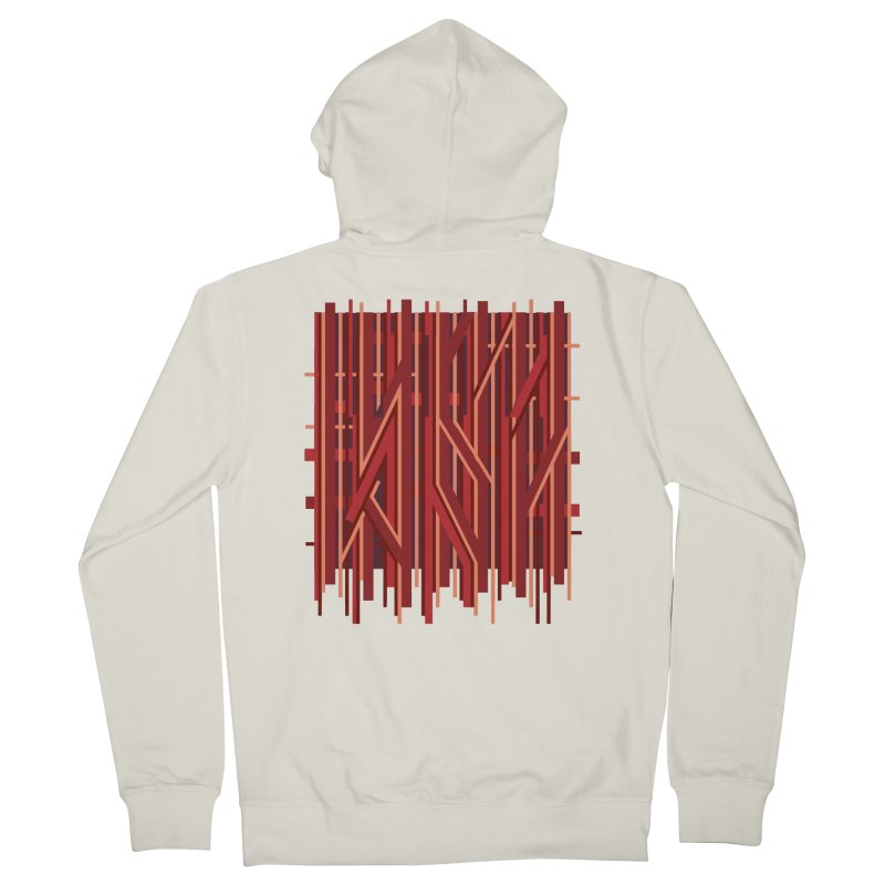 RED LINES Men's Zip-Up Hoody by pick&roll