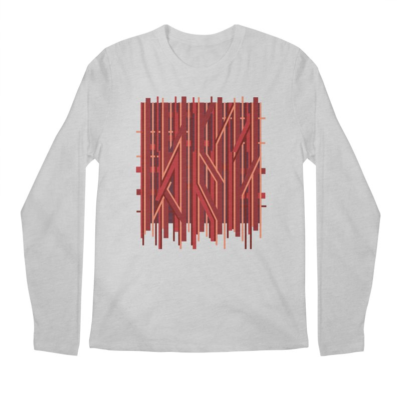 RED LINES Men's Longsleeve T-Shirt by pick&roll