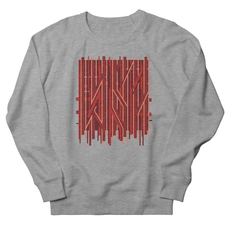 RED LINES Men's Sweatshirt by pick&roll