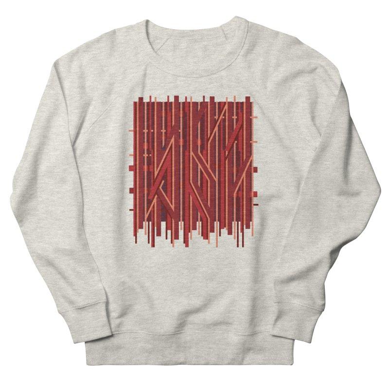 RED LINES Men's Sweatshirt by pick&roll