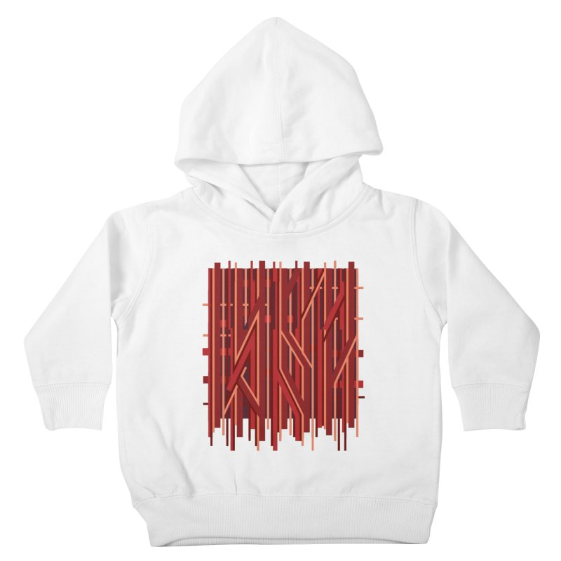 RED LINES Kids Toddler Pullover Hoody by pick&roll