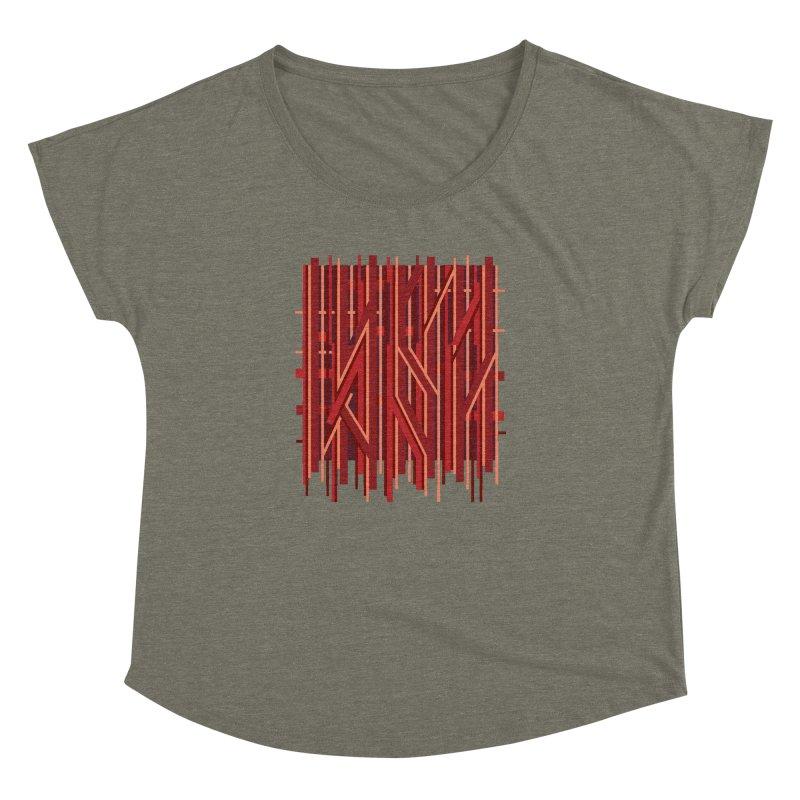 RED LINES Women's Dolman by pick&roll