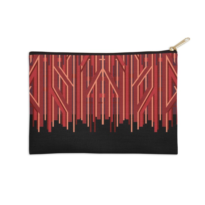 RED LINES Accessories Zip Pouch by pick&roll