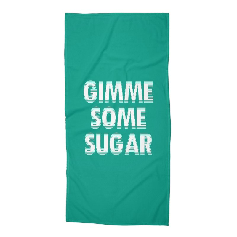 GIMME SOME SUGAR Accessories Beach Towel by pick&roll