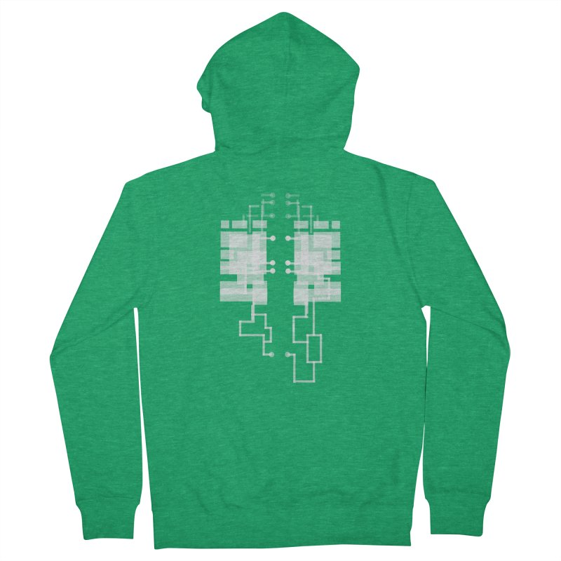 LUNGS OF A GAMER Women's Zip-Up Hoody by pick&roll