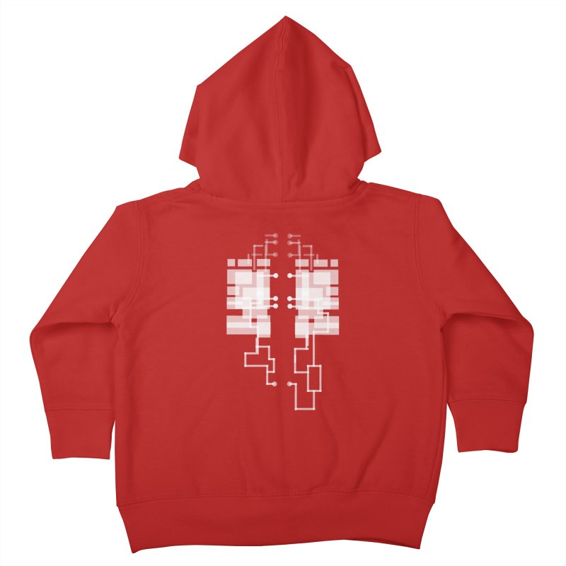 LUNGS OF A GAMER Kids Toddler Zip-Up Hoody by pick&roll